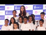 Aishwarya Rai Bachchan Celebrates Smile Train Indias 500,000 Free Cleft Surgeries