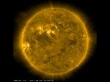 Один день из жизни Солнца