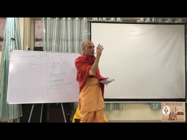 18 лекция. Бхагавад-Гита. Глава 5 (Вриндаван, 25.12.2017) Ватсала дас