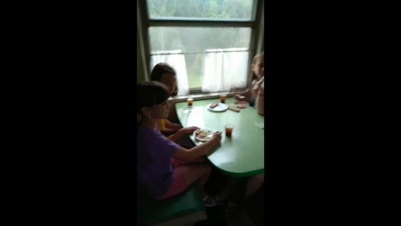 Поздравление в поезде Леры Гриненко!