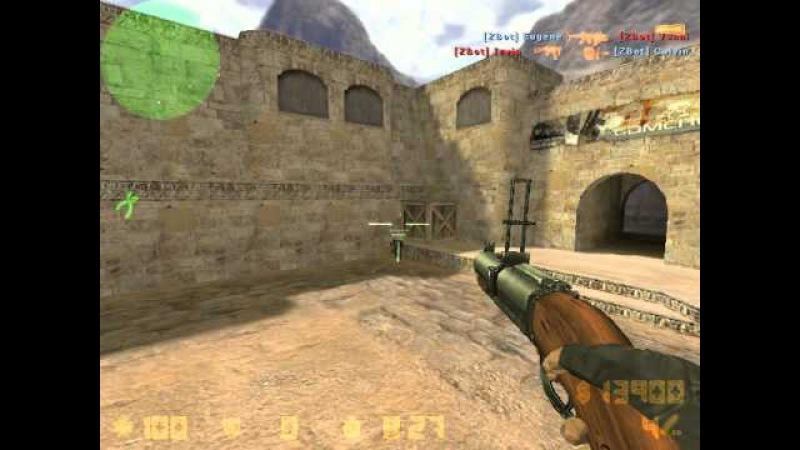 Играем в Counter-Strike Xtreme V5 новые пушки
