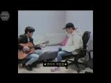 [РУСС. САБ] 171031 EXO Chen x 10cm @ Behind The Scenes Bye Baby