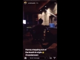 Zara in the studio with Caroline Ailin (Dua Lipa's New Rules) and Electric (Little Mix's Black Magic & Shout Out To My Ex) yeste