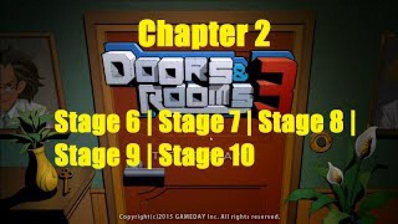 DoorsRooms 3 - Chapter 2 - Stage 6 - 10 - Побег игра : DoorsRooms 3