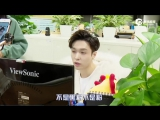 171224 EXO Lay Yixing @ Behind the Scene Sina
