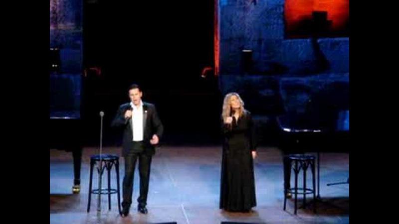Lara Fabian Mario Frangoulis Scarborough Fair Live Athens