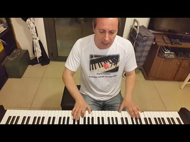 Летят перелетные птицы вокал и пианино кавер piano cover