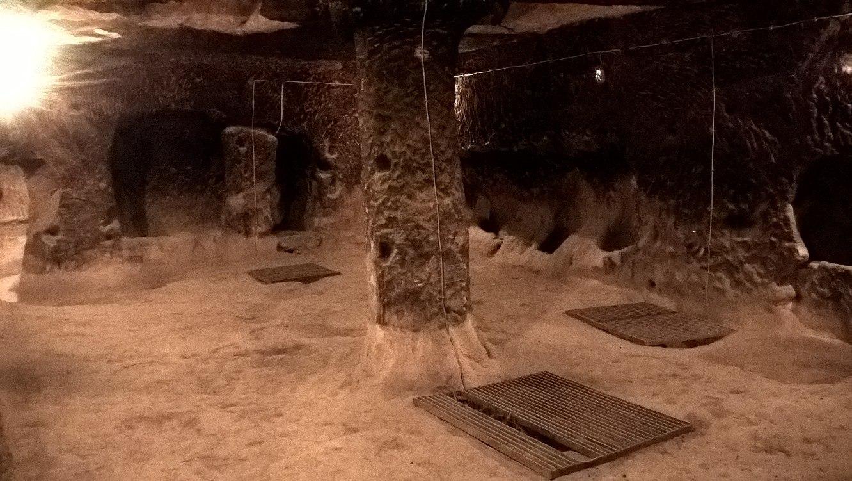 Кухня в подземном городе Каппадокии