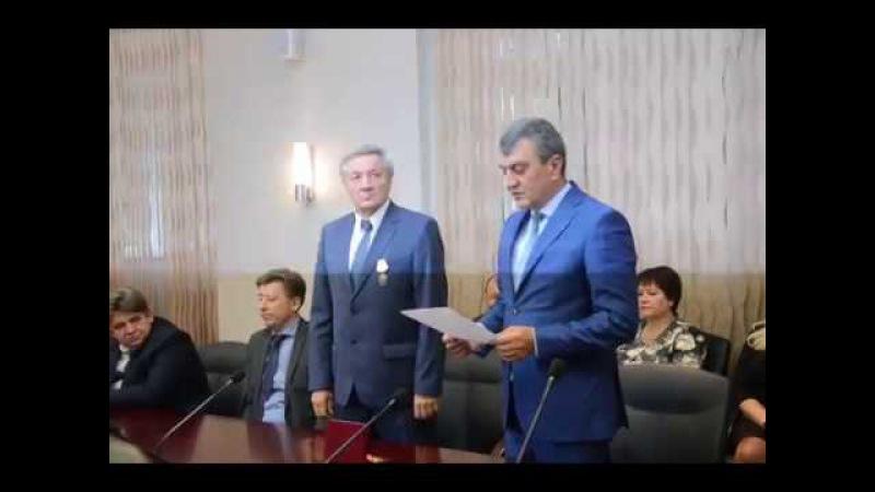 Директор БЭМЗа Виктор Осин награждён орденом Александра Невского