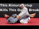 Powerful Kimura Setup for White Belts to Stop Basic Guard Break powerful kimura setup for white belts to stop basic guard break