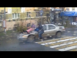 На пешеходном переходе в Калининграде сбили 5-летнюю девочку 15.11.17