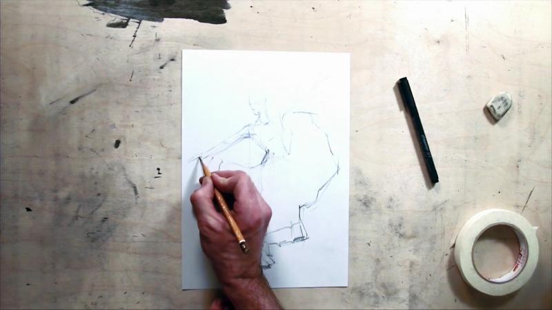 Базовый курс рисования с Даниилом Ворониным