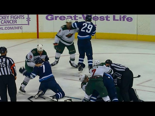 Tempers erupt after Jets score sixth goal on hapless Wild