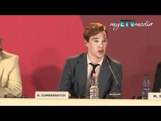 Benedict Cumberbatch on Tinker, Tailor, Soldier, Spy (Venice Film Festival).mov