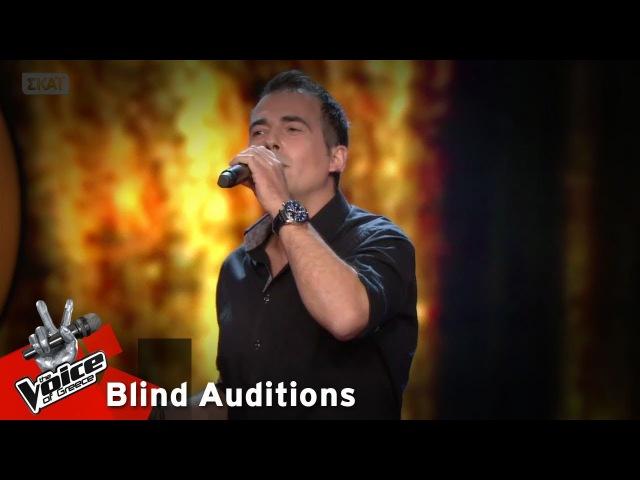 Γιάννης Τσίλης Η νύχτα μυρίζει γιασεμί 12o Blind Audition The Voice of Greece