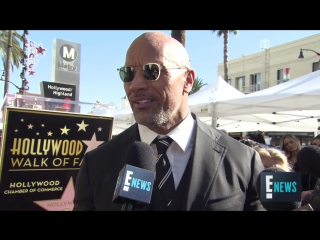Dwayne Johnsons Hollywood Walk of Fame Star Ceremony _ E! Live from the Red Carpet
