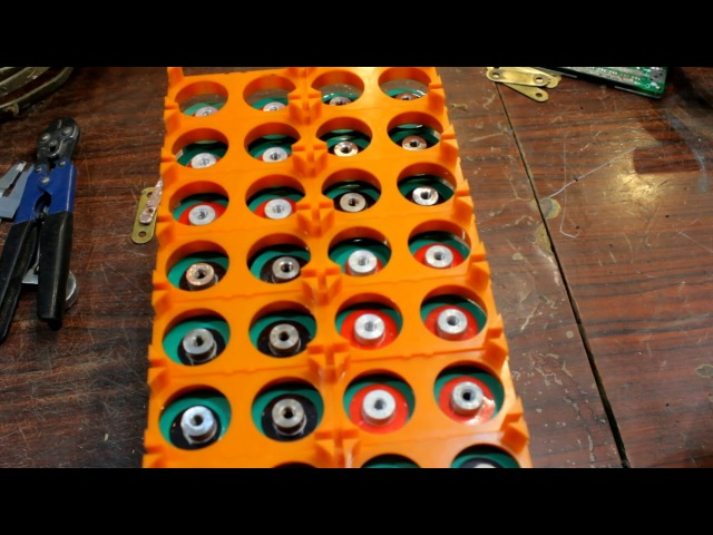 Сборка LiFePO4 батки на электрокартинг 48V 600A