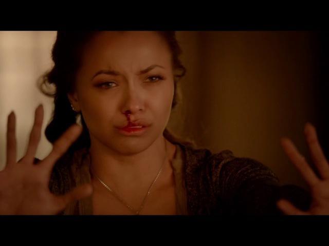 Дневники вампира 8 сезон 16 серия ★ Бони спасает Мистик Фолс от огня HD