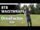 How to do Behind the Back Waistwraps for Poi: 1-minute tutorial