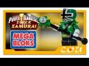Видео обзор Power Rangers Super Samurai Могучие Рейнджеры Супер Самураи MEGA BLOKS 5743