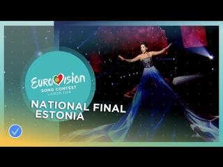 Elina Nechayeva - La Forza Estonia / Эстония (Eurovision 2018) HD_1080p