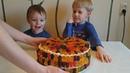 Делаем вкусный торт из m m, скитлс и мармеладных мишек