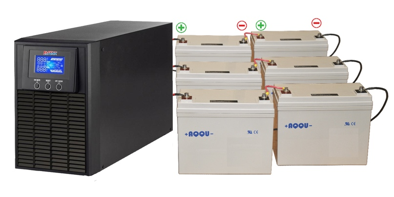 Как подключить аккумуляторы к ИБП, изображение №6