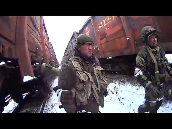Под Дебальцево 2015 - февраль русские с Мурманска и СПБ