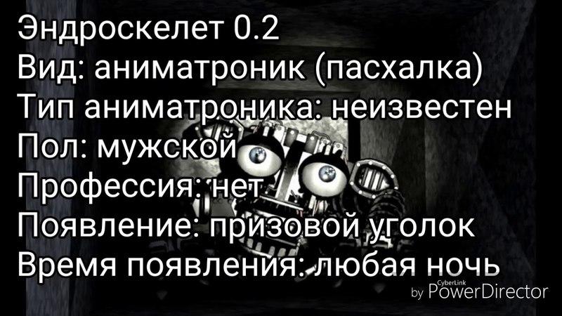 История Эндоскелета 0.2
