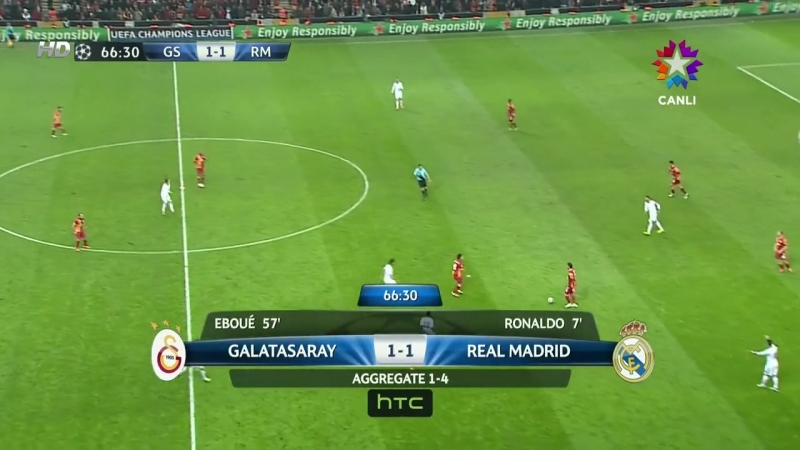 (2012-13 CL10_10) Galatasaray - Real Madrid (Ozet)