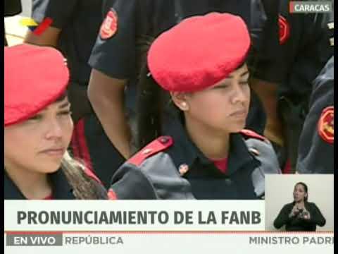 Min. Padrino López 80 de los efectivos que fueron al distribuidor Altamira fueron engañados
