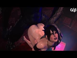 Rule34 dragon age morrigan 3d porn monster sound