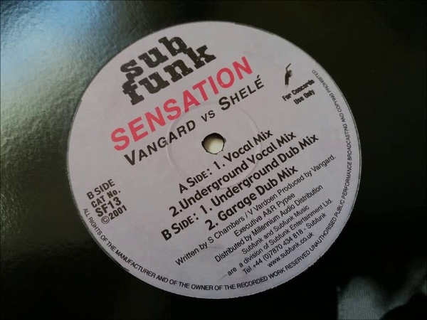Vangard vs Shele Sensation Garage Dub Mix