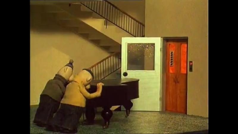 Мультфильм Тяпа и Ляпа в оригинале Пат и Мат смешные ситуации из за непродуманности