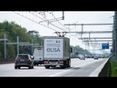 Hessen testet E-Highway für Lkw