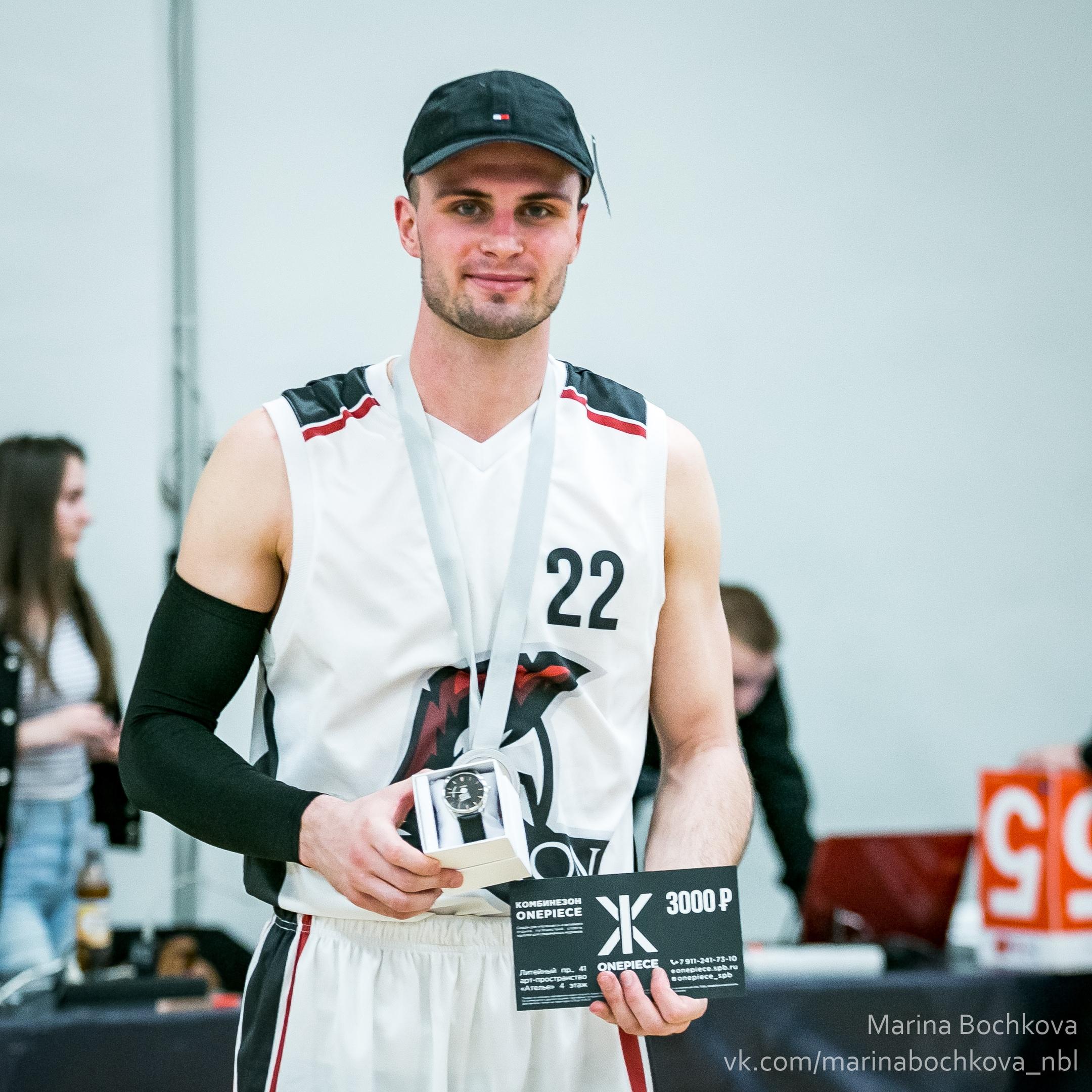 Сергей Жариков – MVP Третьего Дивизиона НБЛ сезона 2018-2019