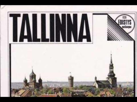 Retro Tallinn and people 80s Nõukogude Tallinn Советский Таллинн