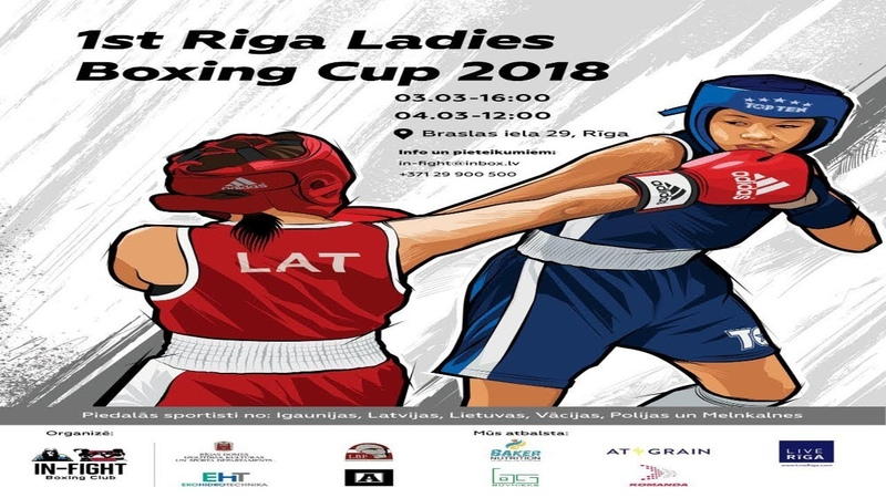 1st Riga Ladies Boxing Cup 2018 RealBoxingShow