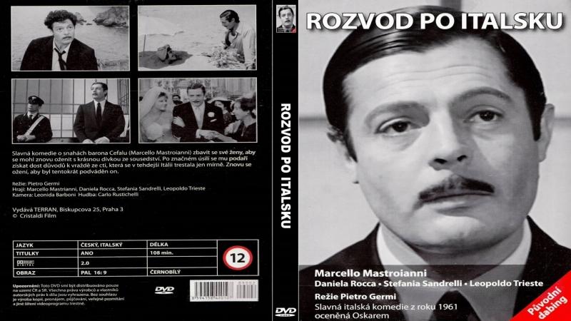 Развод По Итальянски Divorzio allitaliana 1961 Перевод ДиоНиК
