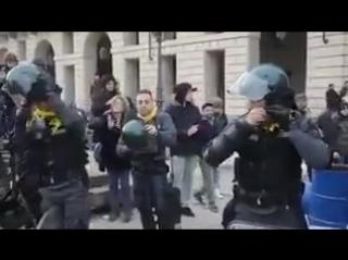 Полиция Италии.