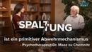 Spaltung ist ein primitiver Abwehrmechanismus Psychotherapeut Dr Maaz zu Chemnitz