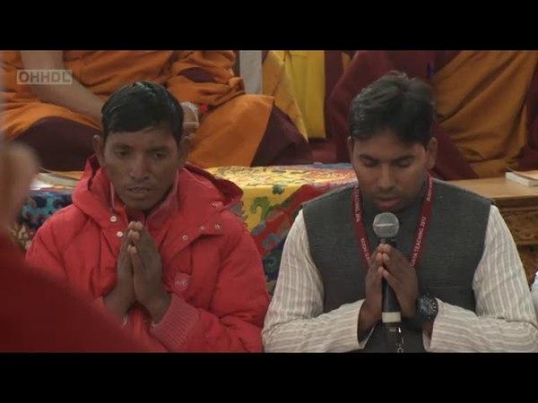 Учения ЕС Далай-ламы в Бодхгае (2018), день 2