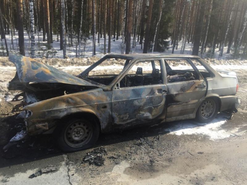 В Марий Эл за сутки сгорели четыре автомобиля