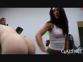 Заставили лизать задницу новеньких, анилингус, куни, ass lick lesbian femdom