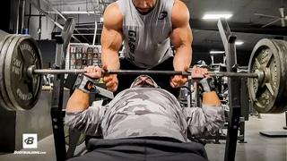Heavy Compound Chest Training | IFBB Pro Guy Cisternino