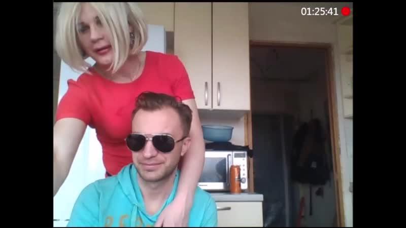 Вася Балканец принимает и прижимает Верку Транс (в конце Коля-бурят как бонус) 2019-04-13