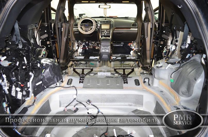 Шумоизоляция Ford Explorer, изображение №7