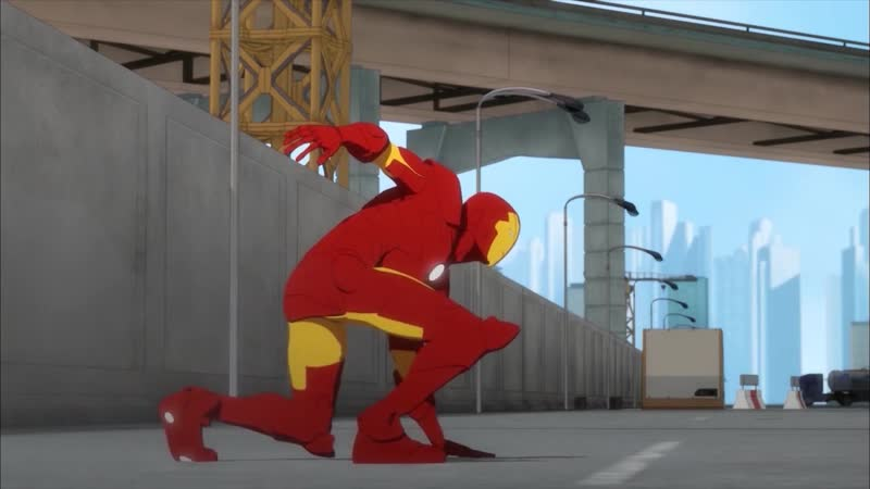 Железный Человек Приключения в Броне 1 Сезон 6 Серия Железный Человек Против Красного Динамо