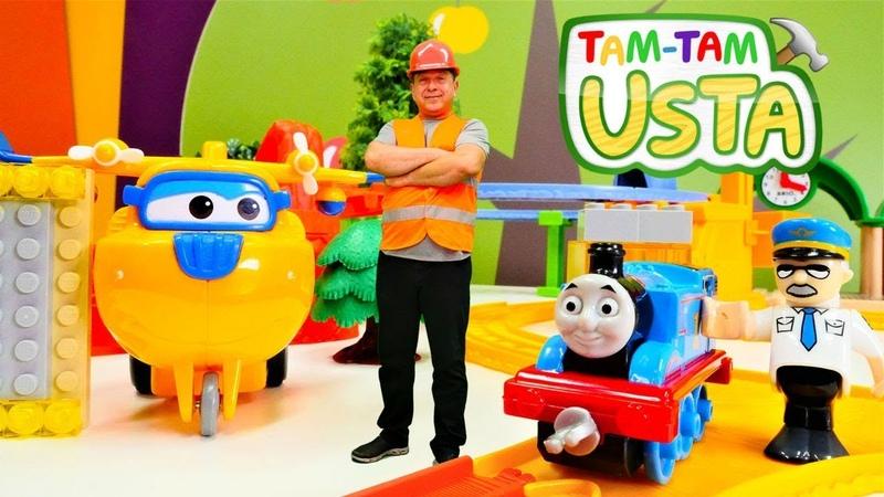 Thomas trene güneş bataryası takıyoruz. Tam Tam Usta