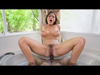 Krissy Lynn - Lathering Up Mrs. Lynn (Anal, Big Tits, BLowjob, Brunette, MILF)